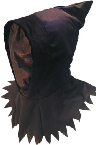 Halloween Masker Ghoul met Kap