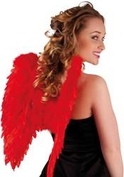 Engelen Vleugels Rood (50x50cm)