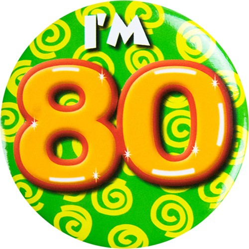 Button 80 jaar