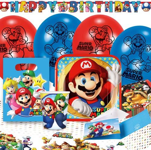 Super Mario Feestpakket (60 stuks)