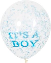 Confetti Ballonnen It's a Boy (6st)