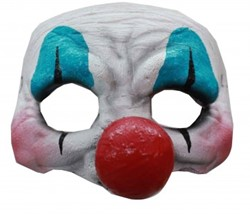 Clown Halfmasker Latex