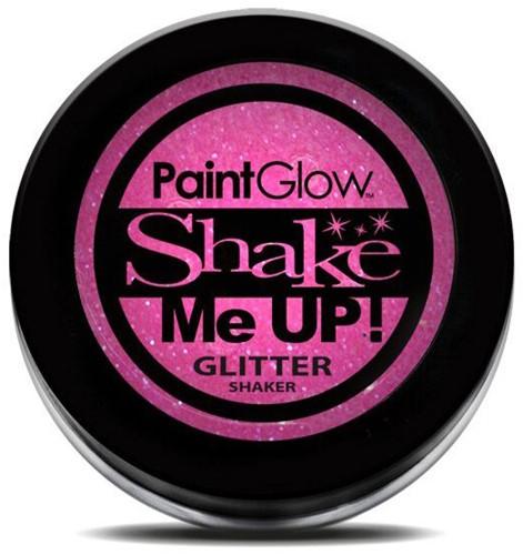 Paintglow Glitters Fijn Shaker Neon Pink 3gr.
