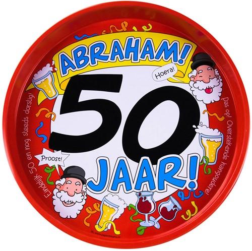 Dienblad Abraham! 50 jaar!