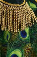 Dames Carnavalsjas Pauw Lang Luxe (detail)