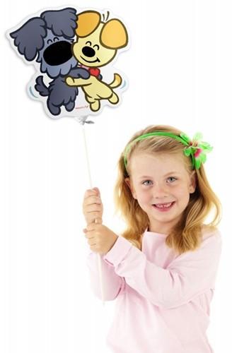 Mini Folieballon Woezel en Pip (28cm)