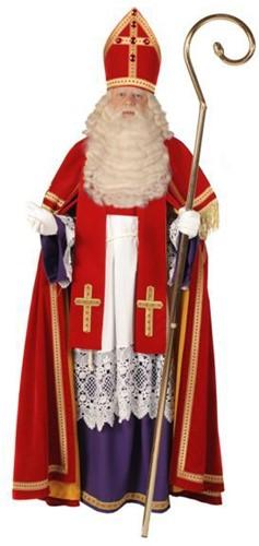 Sinterklaas Kostuum TV Bram Fluweel