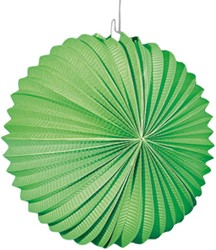 Lampion Bol Groen 22cm