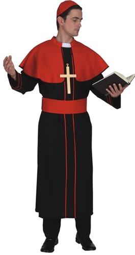 Kostuum Kardinaal Rood-Zwart