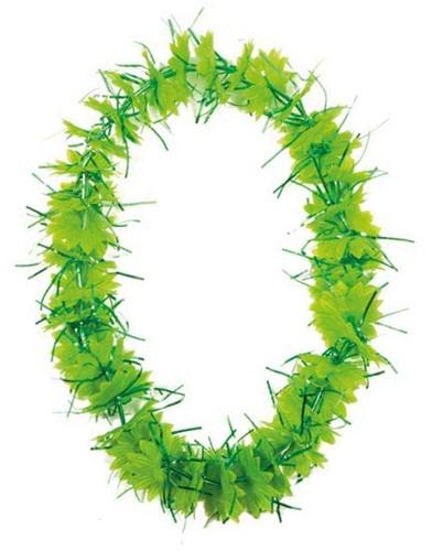 Hawai Krans Tinsel Groen