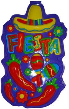 Wanddecoratie Fiesta