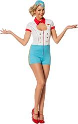 Catsuit Stewardess voor dames