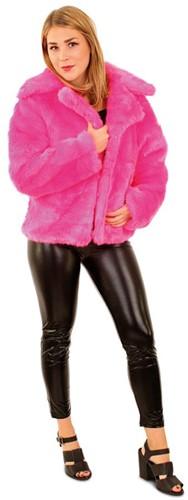 Carnavals Bontjas Pink voor dames