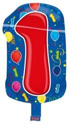 Folieballon 1 Jaar 56cm
