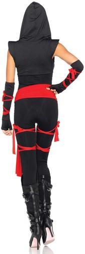 Dameskostuum Sexy Deadly Ninja-2