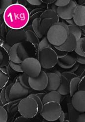 Confetti 1 Kilo Brandveilig Zwart