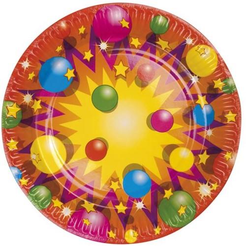 Bordje Party Balls 23cm 10st