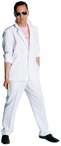 Kostuum Miami Vice Wit