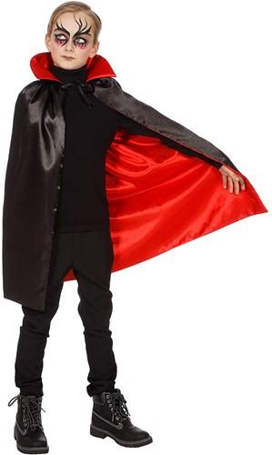 Dracula Cape Rood-Zwart voor kinderen