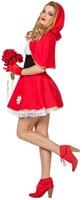 Dameskostuum Sexy Roodkapje-2