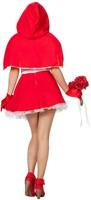 Dameskostuum Sexy Roodkapje-3