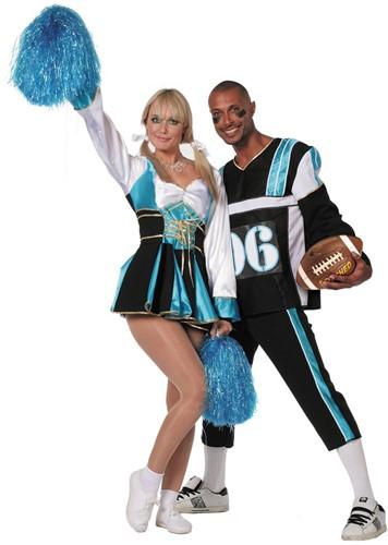 Cheerleader Aqua (links)