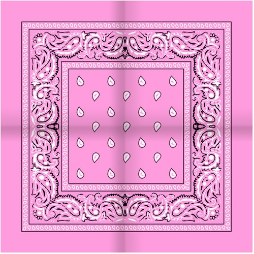 Zakdoek Roze (54x54cm)