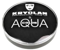 Kryolan Aqua Color 55ml Zwart