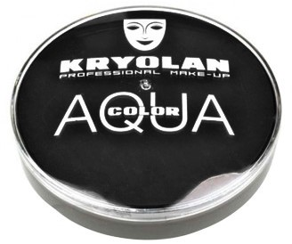 Aquacolor Kryolan Zwart 55ml 071