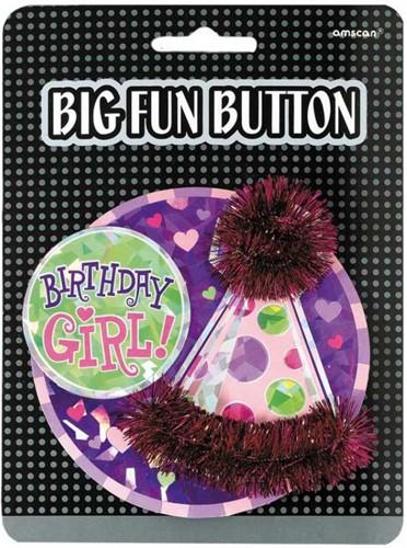 Big Fun Button Girl