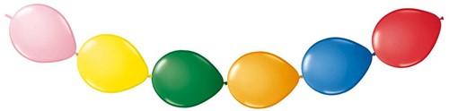 Doorknoopballonnen 8st. Assorti