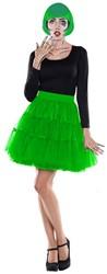 Tulen Petticoat Groen Rok