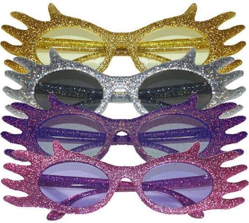 Discobril Waves Glitter Roze