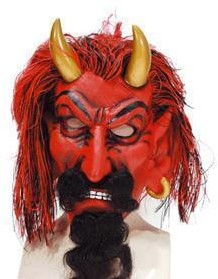 Masker Duivel met Horens