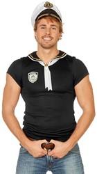 Matrozenshirt Zwart voor heren