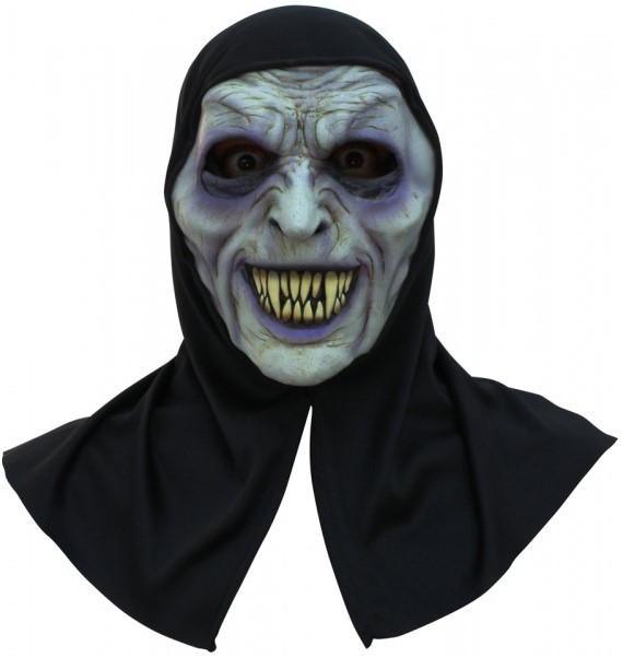Halloween Masker.Halloween Masker Ghoul Latex Met Kap