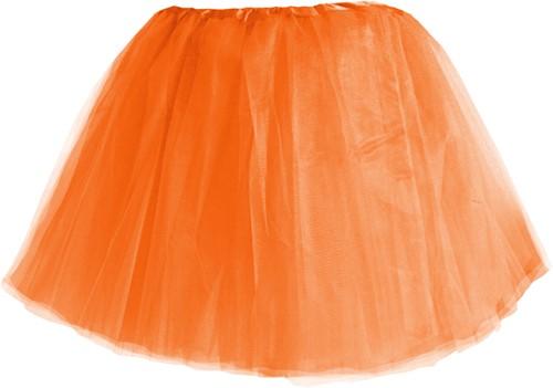 Tule Rokje 3 lagen Oranje (40cm)