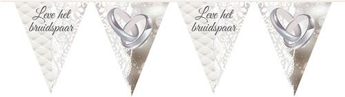 Vlaggenlijn Leve Het Bruidspaar 10m