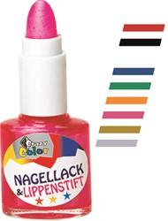 Nagellak + Lipstick Rood
