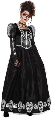 Damesjurk Princess of the Dark (Day of the Dead)
