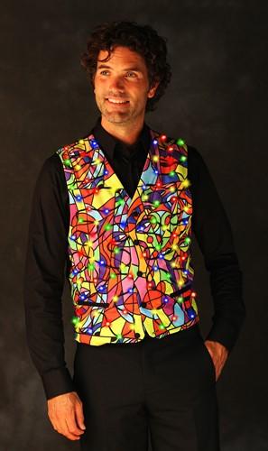Heren Gilet Picasso met LED-verlichting
