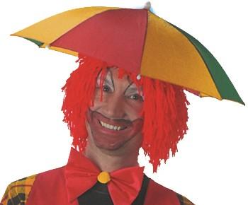 Paraplu Hoed Rood-Geel-Groen