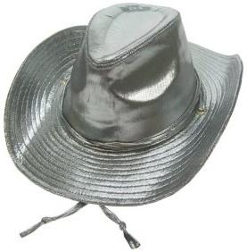Cowboyhoed Madonna Metallic Zilver