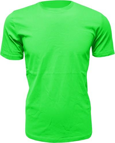 Heren T-Shirt Appelgroen (Slim Fit)