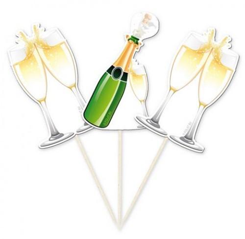 Prikkers Champagneflessen 10st.