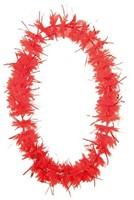 Hawai Krans Tinsel Rood-2