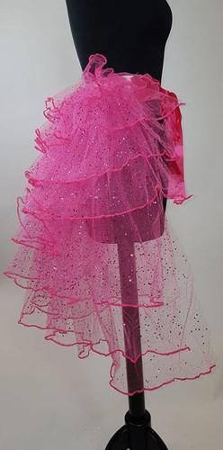Tule Rokje Burlesque Pink met Glitter