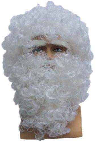 Pruik + Baard Kerstman