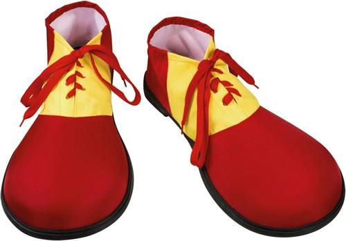 Clownsschoenen Rood-Geel Jumbo