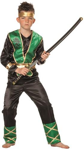 Kinderkostuum Groene Ninja